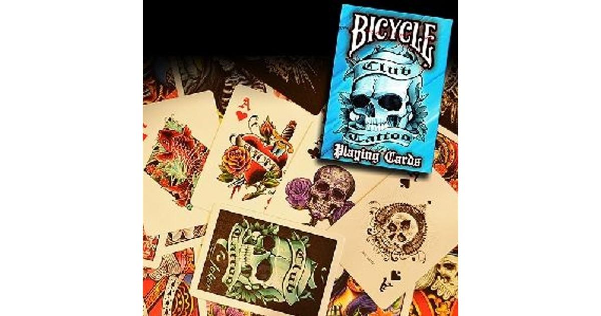 Baraja Bicycle Club Tatoo (Azul)