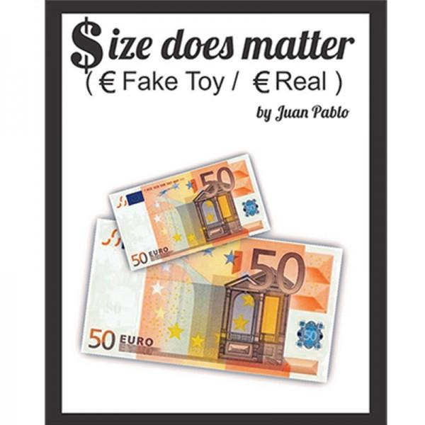 El Tamaño Importa (de 50€ mini a 50€)
