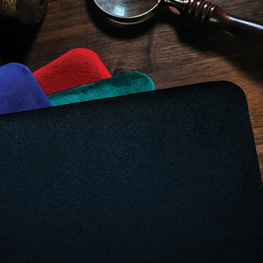 Suede Leather Pad by TCC Black