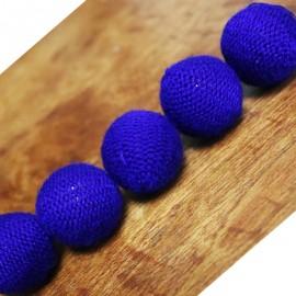 """Bolas de Crochet Combo 1"""" Azules"""