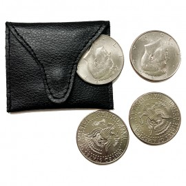 Coin Pouch Leather - Single