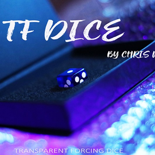 TF Dice (Transparent Forcing Dice ) Blue