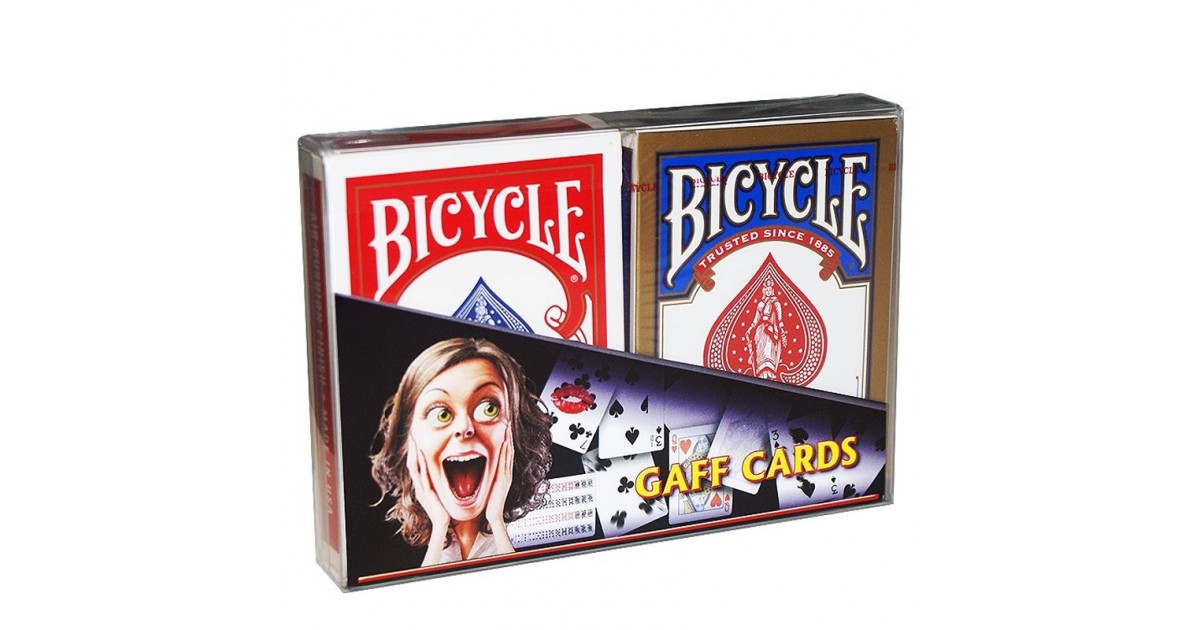 Gaff Bicycle Cards
