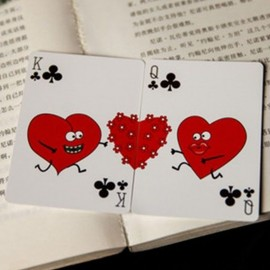 My Love Playing Card (con caja de regalo)