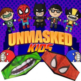 Unmasked Kids by Arkadio y Solange