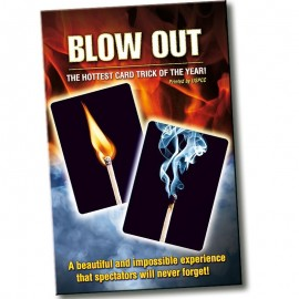 Blow Out cards trick