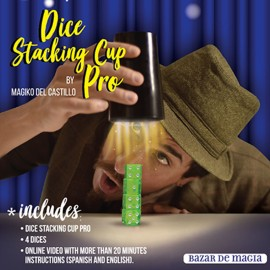 Dice Stacking Cup Pro by Magiko del Castillo