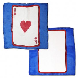 Card on silk Ace of Heart 30cm (Sitta Silk)