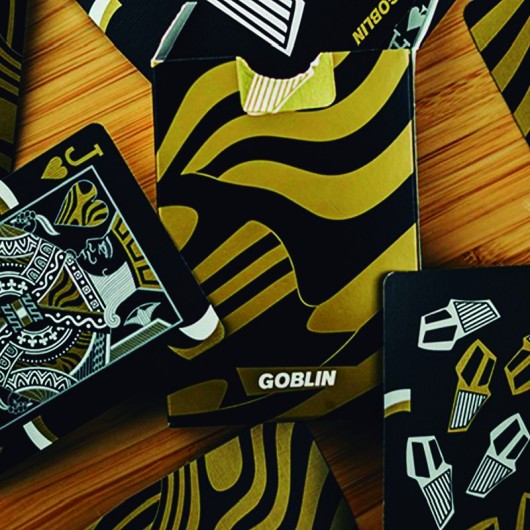 Gold Goblin Playing Card by Gemini