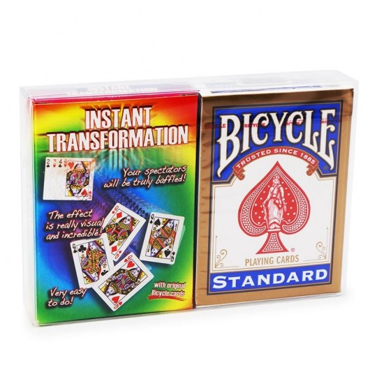 Instant Transformation + Bicycle Deck