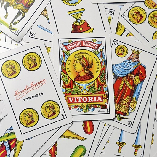 Baraja Española ( 40 cartas ) Fournier