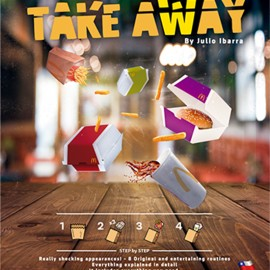 Take away para aparición de comida rápida