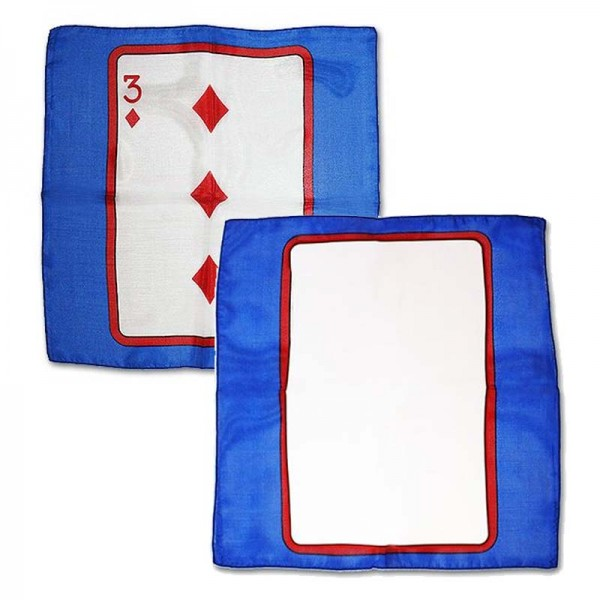 Carta al pañuelo 3 de Diamantes 30cm (Sitta)