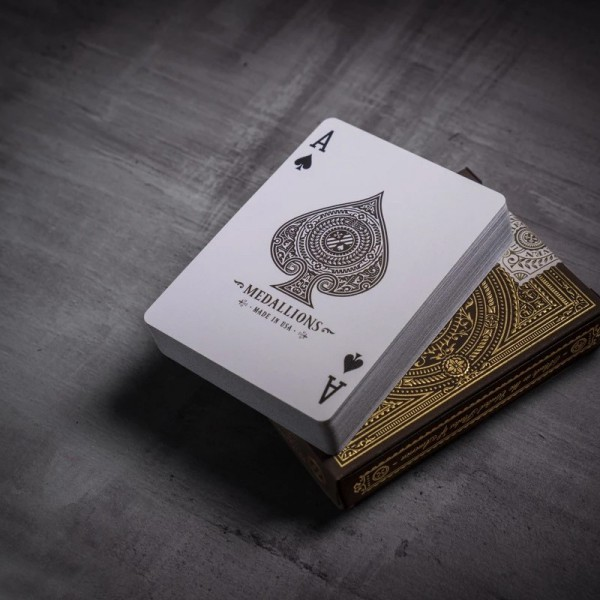 Medallions Playing Cards by Theory 11