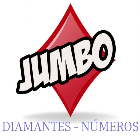 Baraja Jumbo Forzaje una vía (Diamantes-Número)