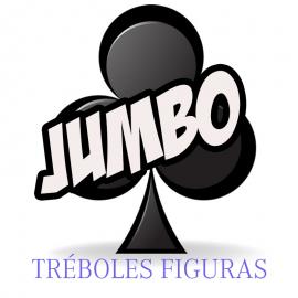 Baraja Forzaje Jumbo una vía (Tréboles-Figura)