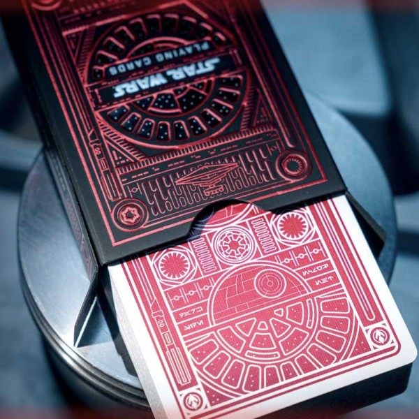 Star Wars Dark Side (Red) Playing Card by Theory 11