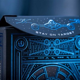 Star Wars Light Side (Blue) Playing Card by Theory 11