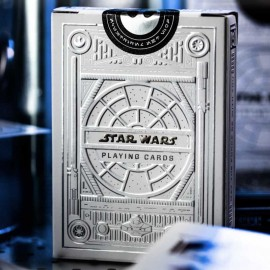 Baraja Star Wars Light Silver edition (White) by Theory 11