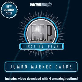 E.S.P. Jumbo Testing Cards by Vernet