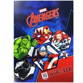 Coloring Book Avengers Marvel