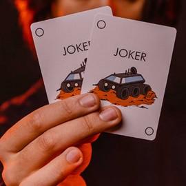 Orbit V8 Playing Cards