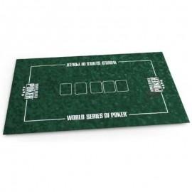 Tapete de Poker Pro 120 x 70 (World Series Poker)