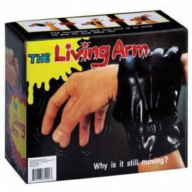 Brazo Vivo con guante negro (Broma)